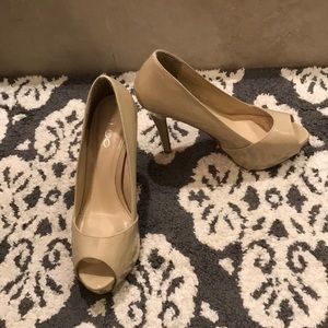 Aldo pintello nude patten heels